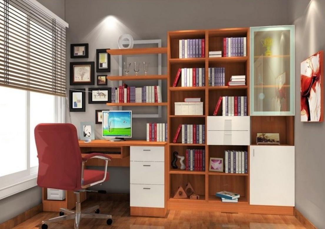 Bookcase Room, Bookshelf Desk Desk Bookcase Combination (View 2 of 15)