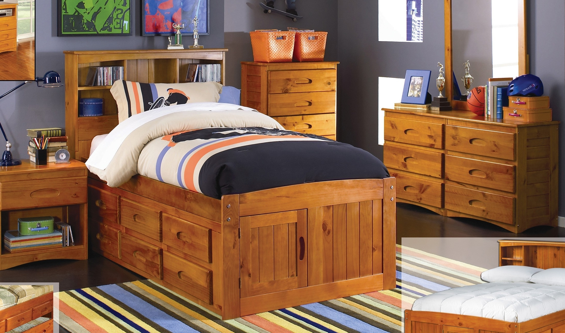 Bookcase Unusual Twin Storage Bed With Headboard Images Concept With Regard To Well Known Twin Bed Bookcases (View 8 of 15)