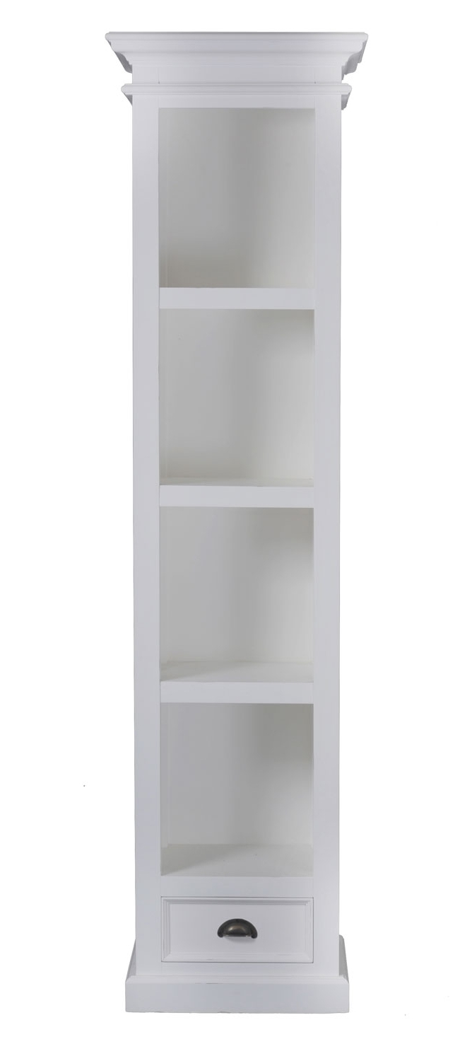 Bookcase: Use The Narrow Bookcase To Organize Your Book With Regard To Trendy Narrow White Bookcases (View 7 of 15)