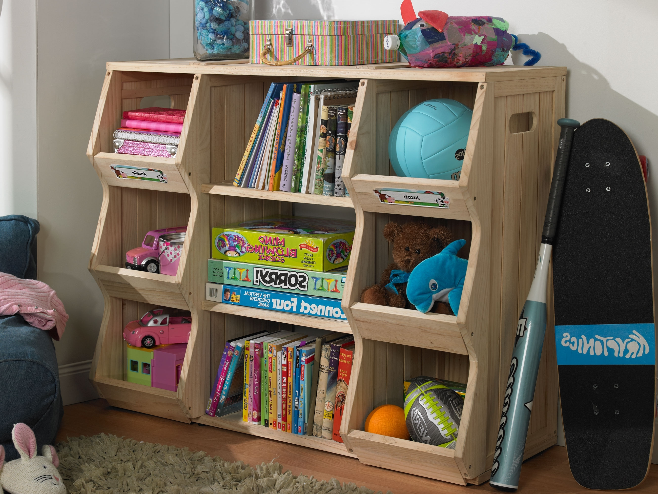 Bookcases For Toddlers For Famous Kids Bookshelf And Storage – Home Design Ideas And Pictures (View 4 of 15)