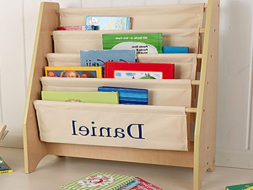Bookcases For Toddlers Regarding 2017 Bookcases For Toddlers White Sling Bookshelf Kids Sling Bookcase (View 6 of 15)