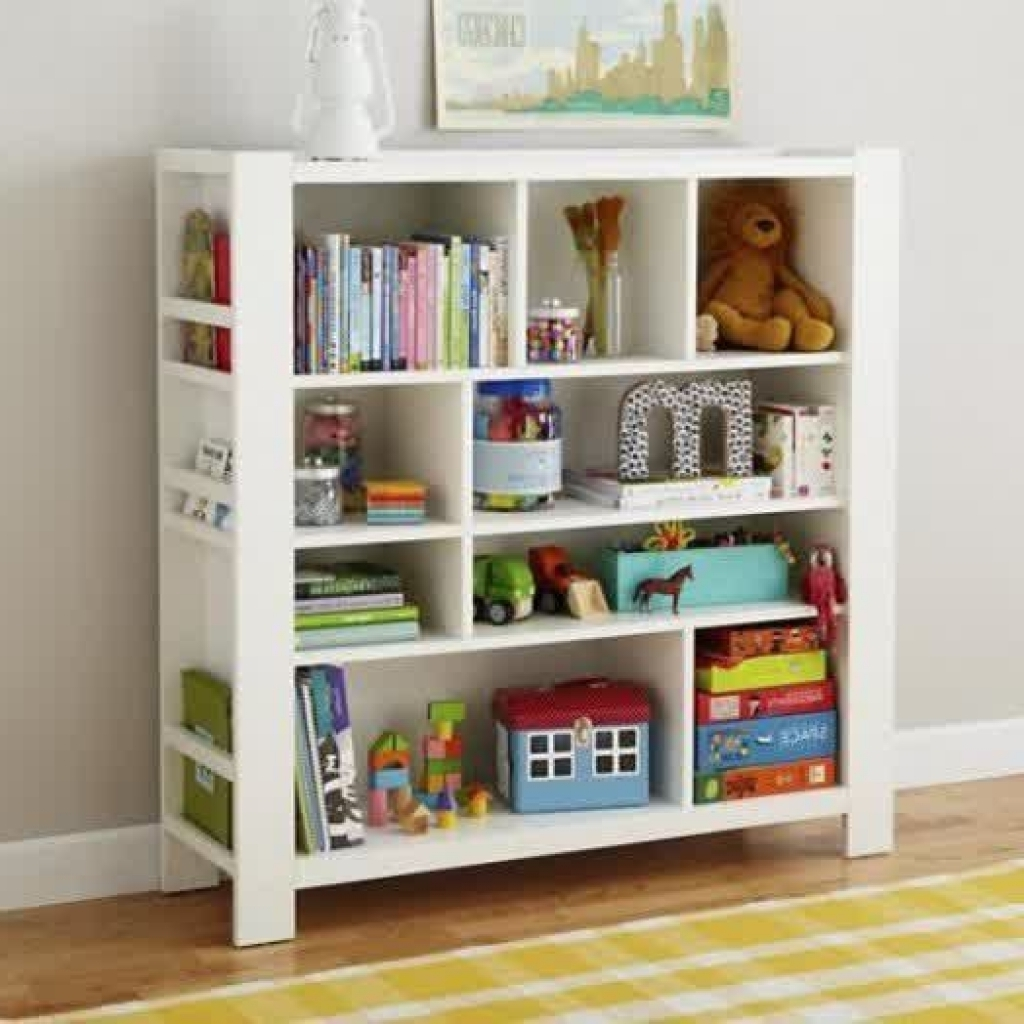 Bookcases For Toddlers With Favorite Elegant Kids Bookshelf White Wooden Bookcase For Sleek Look With (View 7 of 15)