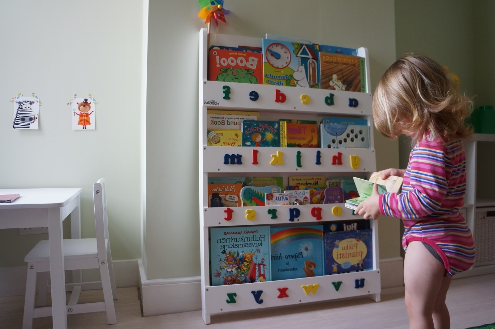 Bookcases For Toddlers Within Popular Bookcases For Toddlers White Sling Bookshelf Kids Sling Ideas Of (View 8 of 15)