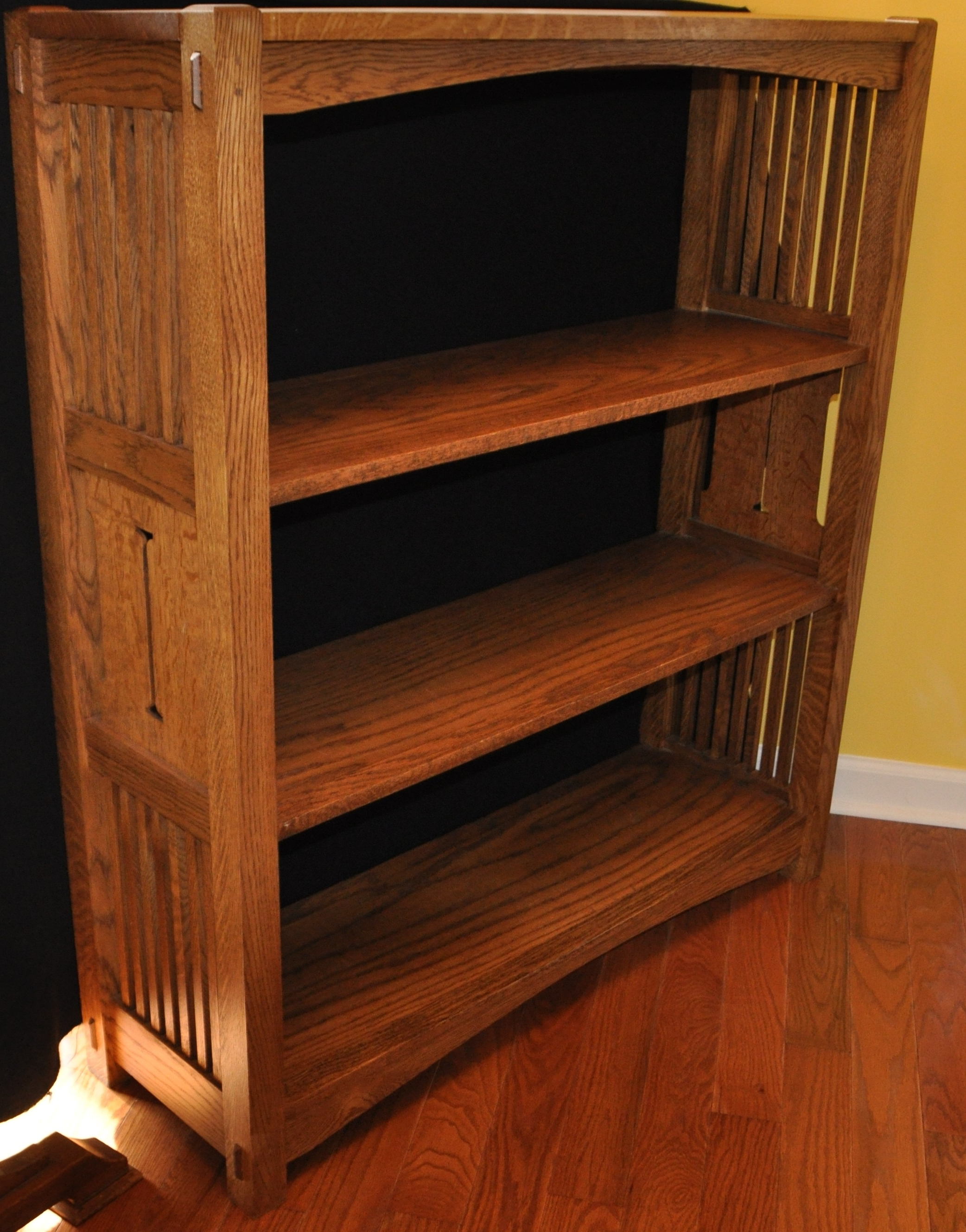 Bookcases Ideas: Best Mission Style Bookcase Shaker Bookcases, Oak For Preferred Mission Bookcases (View 11 of 15)