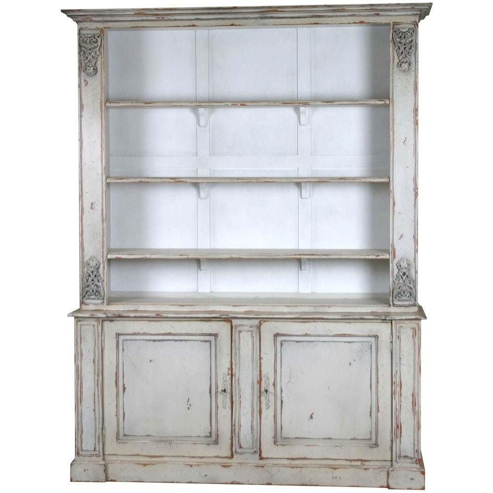 Bookcases Ideas: Bookcase And Display Cabinets French Chateau For Famous Bookcases With Cupboard (View 4 of 15)