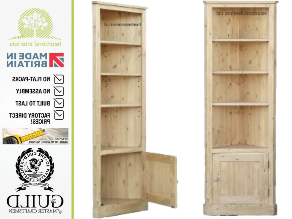 Bookcases Ideas: Bookcases And Bookshelves Shop The Best Deals For Intended For Most Recent Corner Oak Bookcases (View 3 of 15)