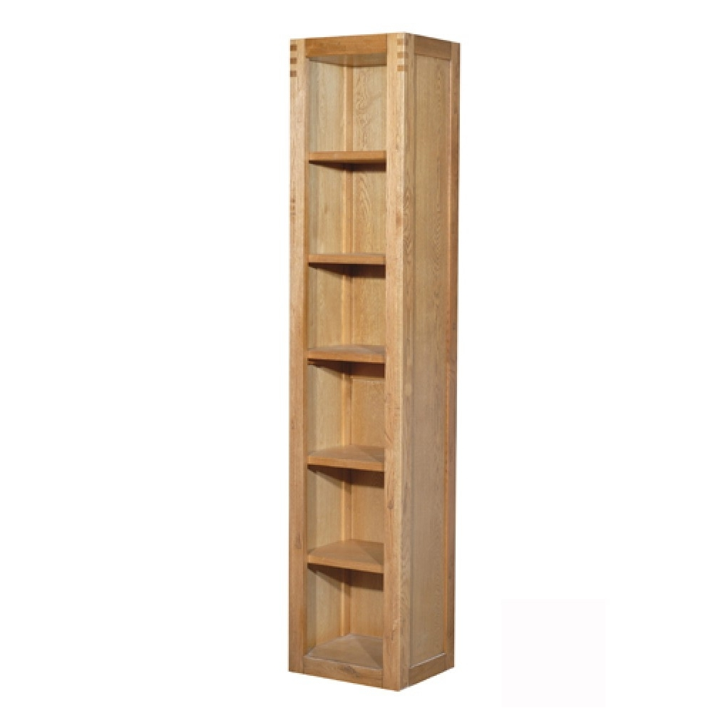 Bookcases Ideas: Bookcases And Shelving Units Oak And Glass Book In Newest Very Narrow Shelving Unit (View 1 of 15)
