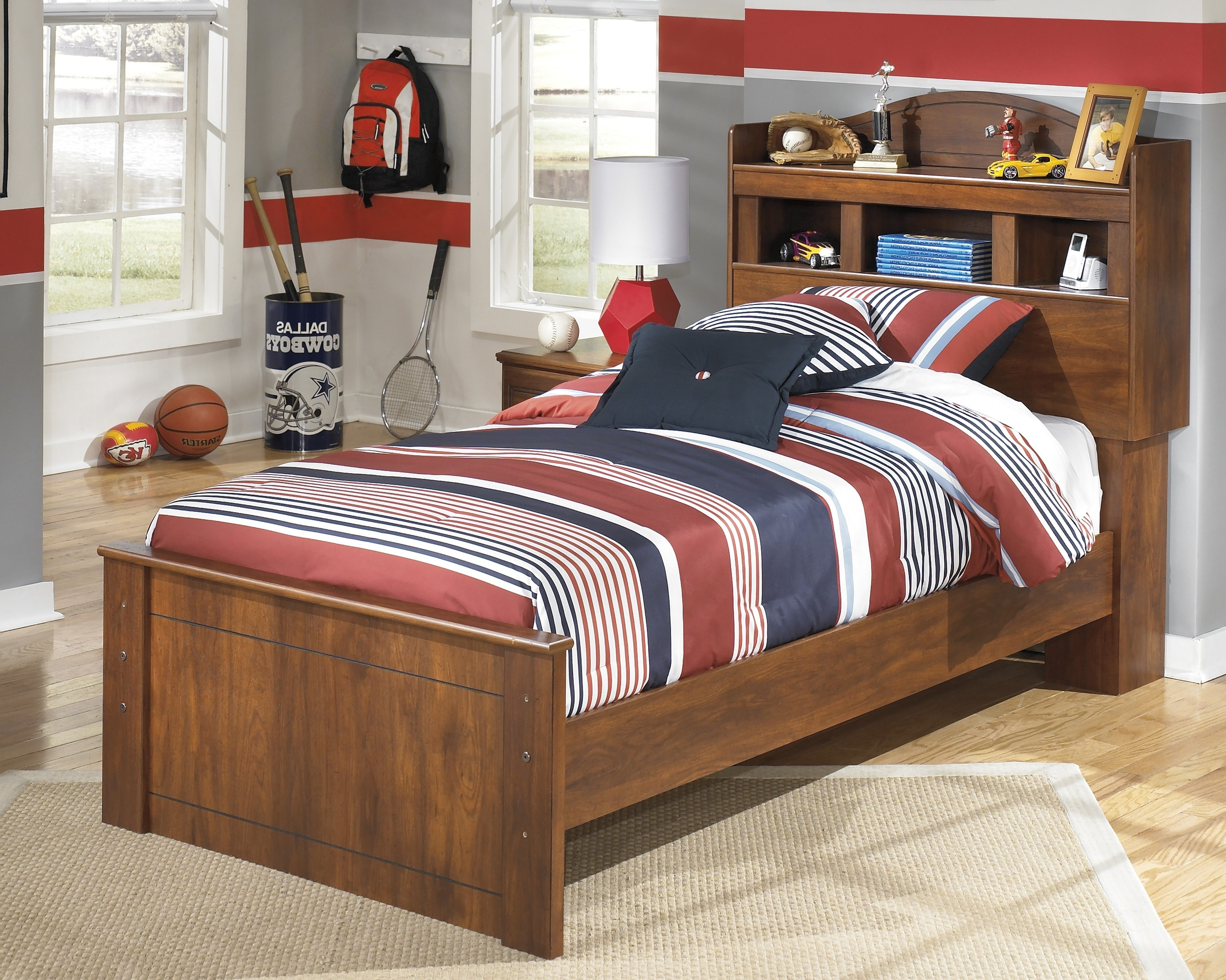 Bookcases Ideas: Dexifield Twin Bookcase Bed Ashley Furniture Intended For Favorite Bookcases Bed (View 6 of 15)