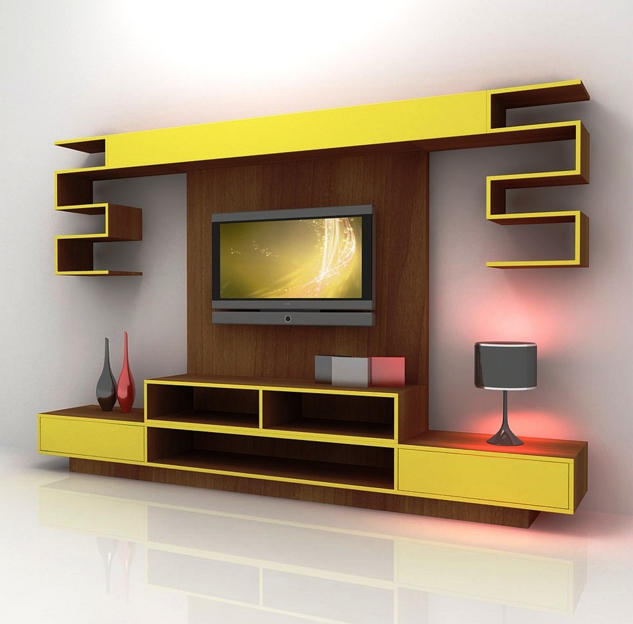 Bookcases : Tv Storage Bench Tv Stand And Bookcase Combo Colorful In Best And Newest Tv Stand Bookcases Combo (View 14 of 15)
