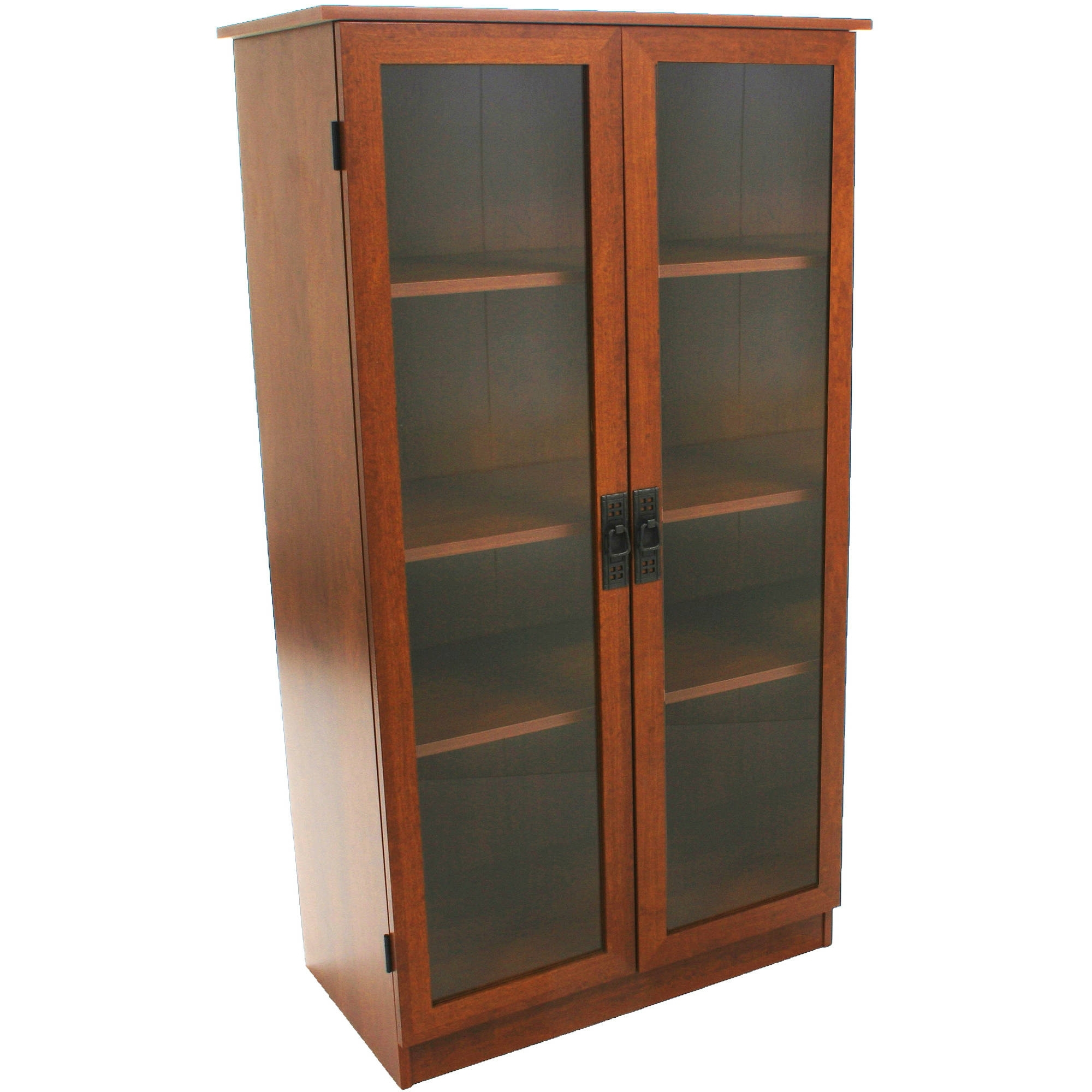 Bookcases With Glass Doors – Walmart Regarding Newest Shallow Bookcases (View 1 of 15)