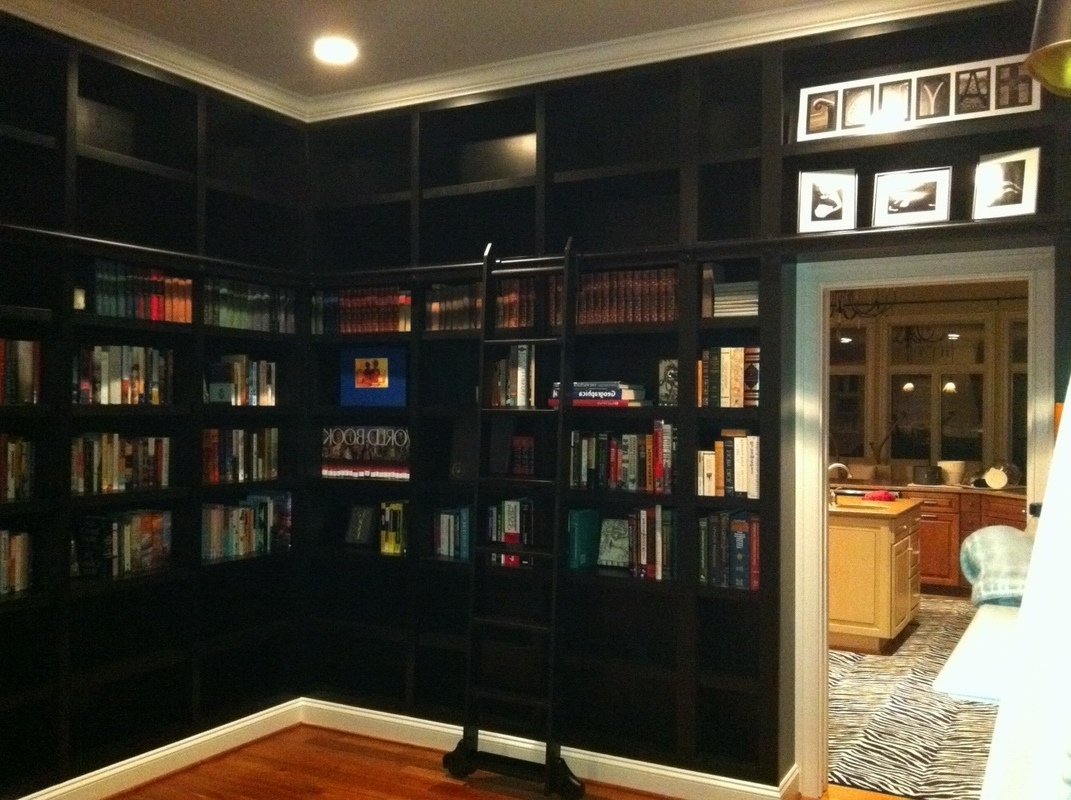 Bookcases With Ladder And Rail Pertaining To Popular Furniture Home: 34 Surprising Bookcase With Ladder And Rail (View 4 of 15)
