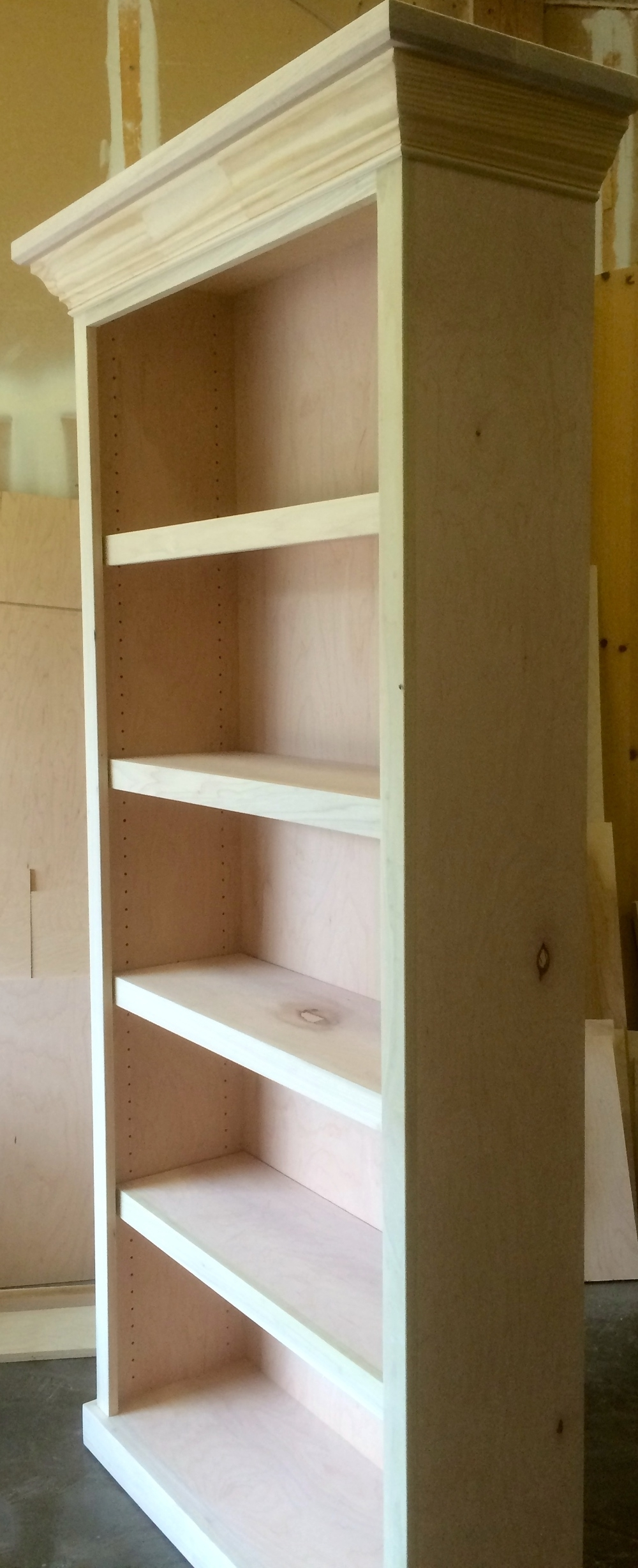 Bookcases — Wood Gem Custom Cabinets In Trendy Free Standing Bookcases (View 1 of 15)