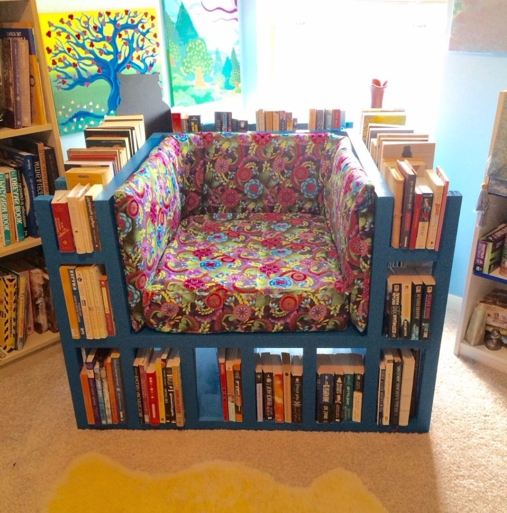 Bookshelf Chair: 15 Steps (With Pictures) In Current Chair Bookcases (View 2 of 15)