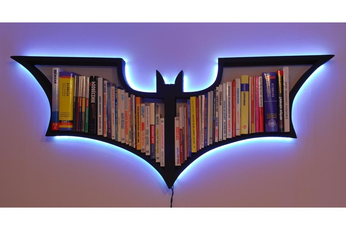Featured Photo of Batman Bookcases