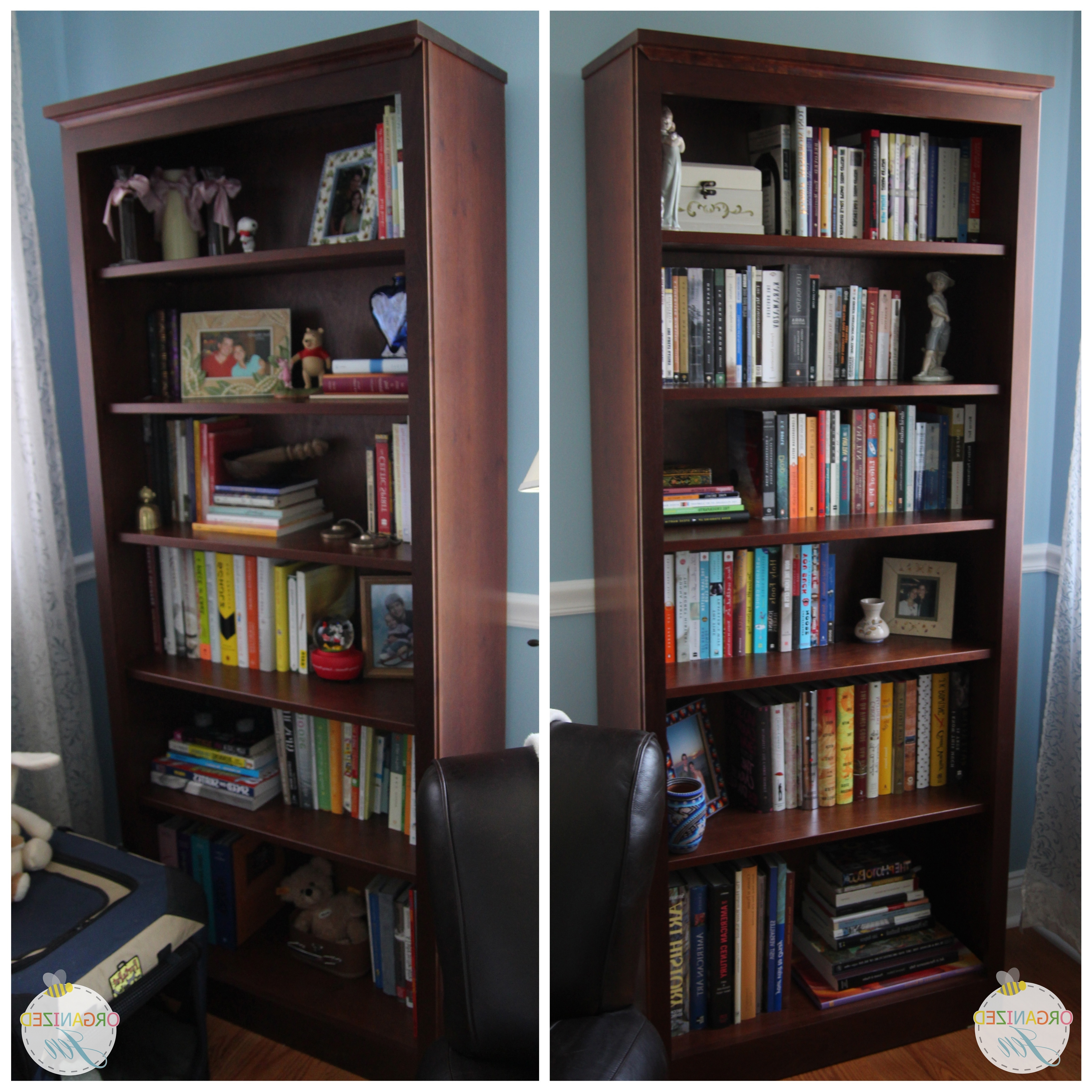 Bookshelf Tour & Organization – Pretty Neat Living For Recent Crate And Barrel Bookcases (View 7 of 15)