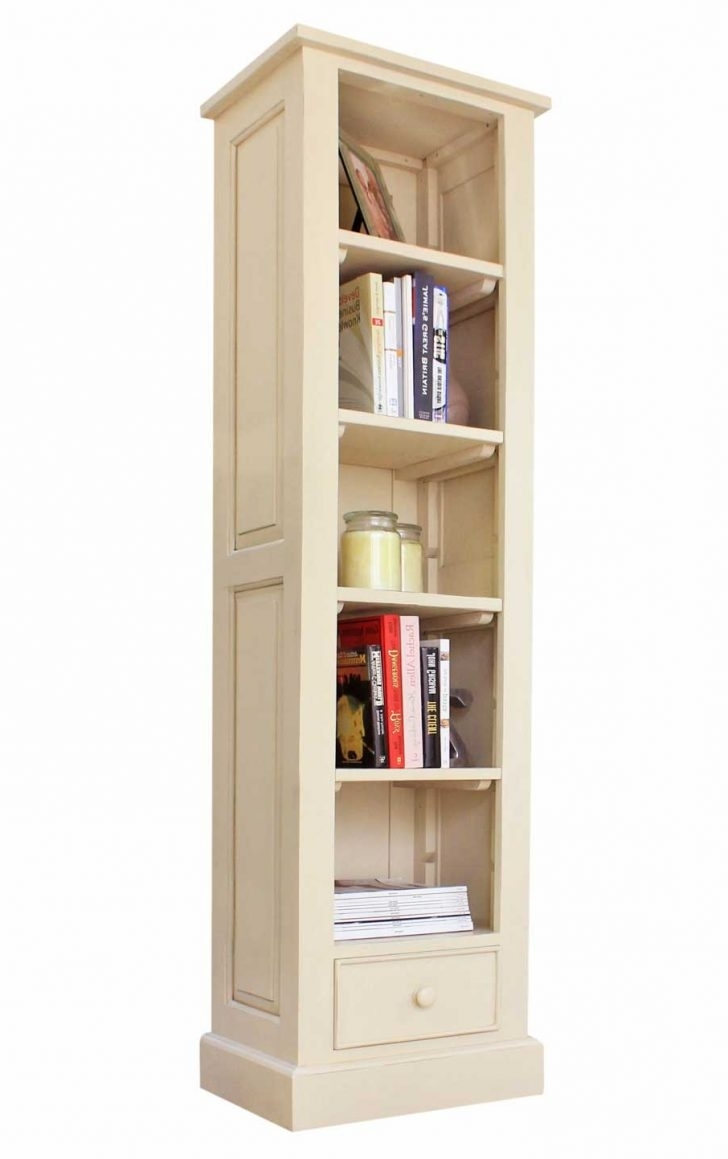 Bookshelves & Bookcases Ikea Narrow Tall Bookcase Pics White Wood With Most Up To Date Tall Narrow Bookcases (View 9 of 15)