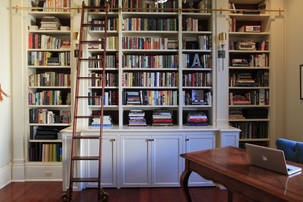 Bookshelves With Cabinet Base For Newest Wall Units (View 8 of 15)