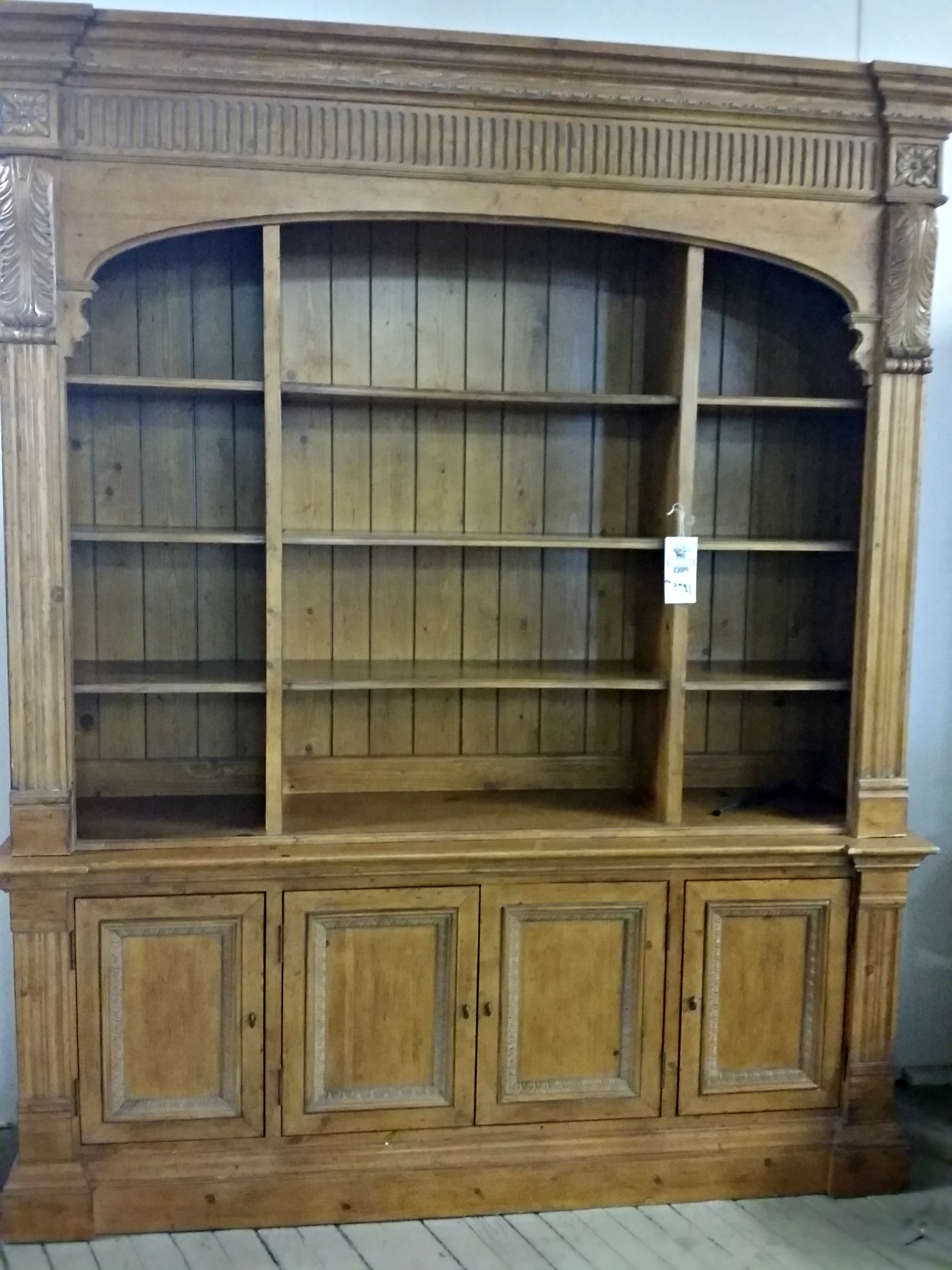 Brilliant Ideas Of Ethan Allen Legacy Double Arch Library Bookcase Throughout Most Up To Date Ethan Allen Bookcases (View 11 of 15)