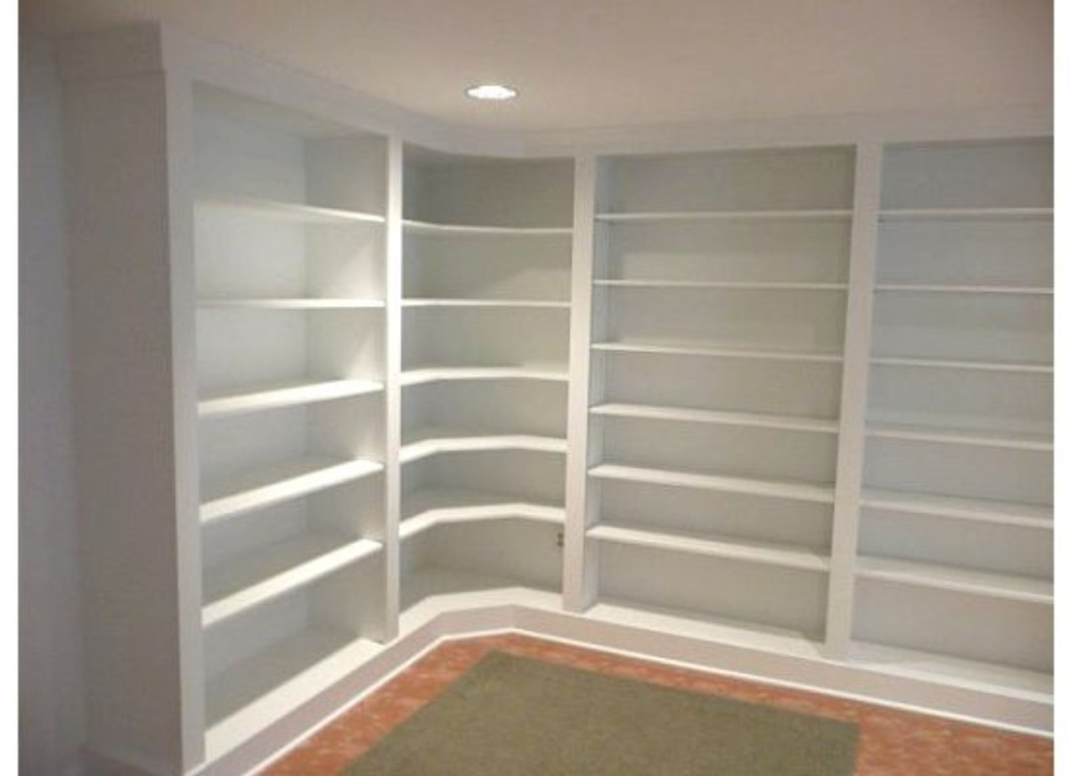 Build Built In Bookcases Within Preferred Builtin Bookshelves (View 7 of 15)