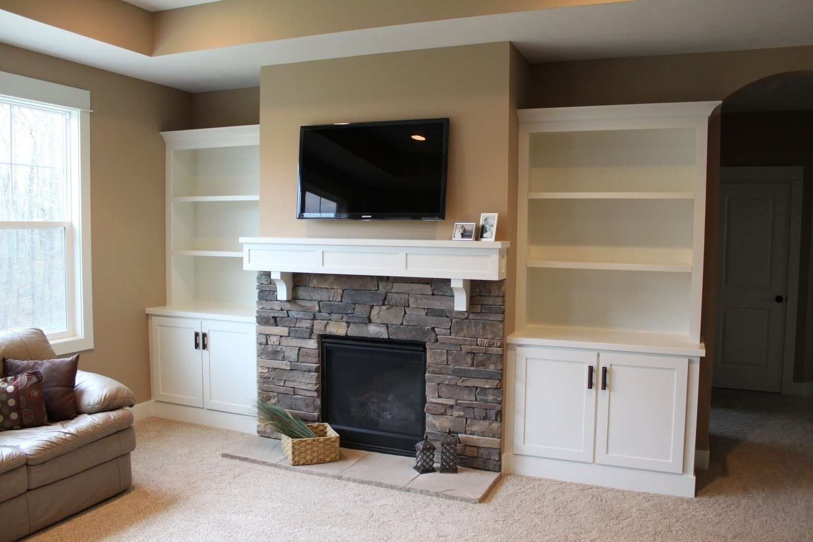 Built In Bookcases Kits Intended For Current Wall Units (View 4 of 15)