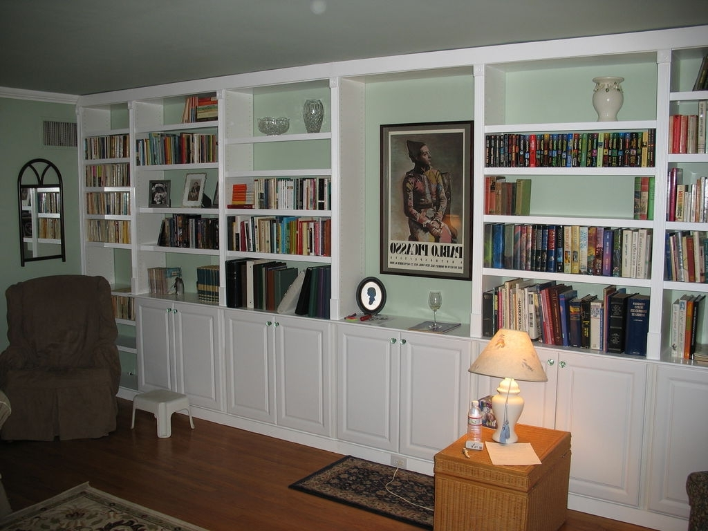 Built In Bookcases Pertaining To Current Built In Book Cases: 5 Steps (With Pictures) (View 5 of 15)