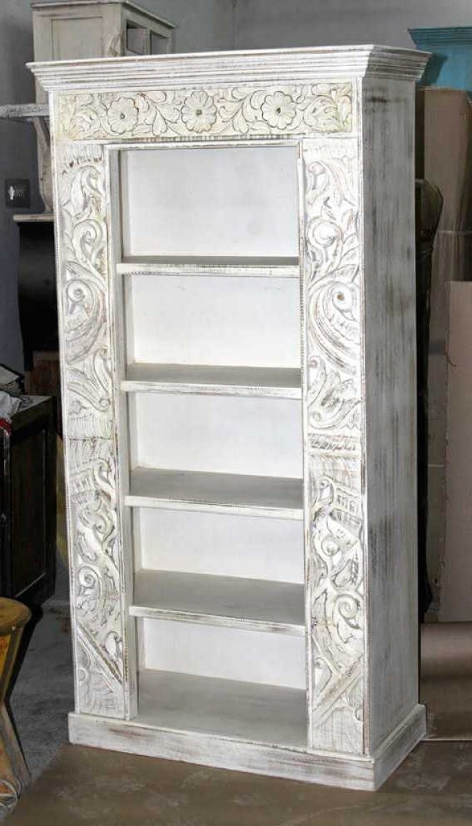 Built In Bookshelves Styling And Decor, Shiplap, Whitewash Brick Intended For Trendy Whitewash Bookcases (View 2 of 15)