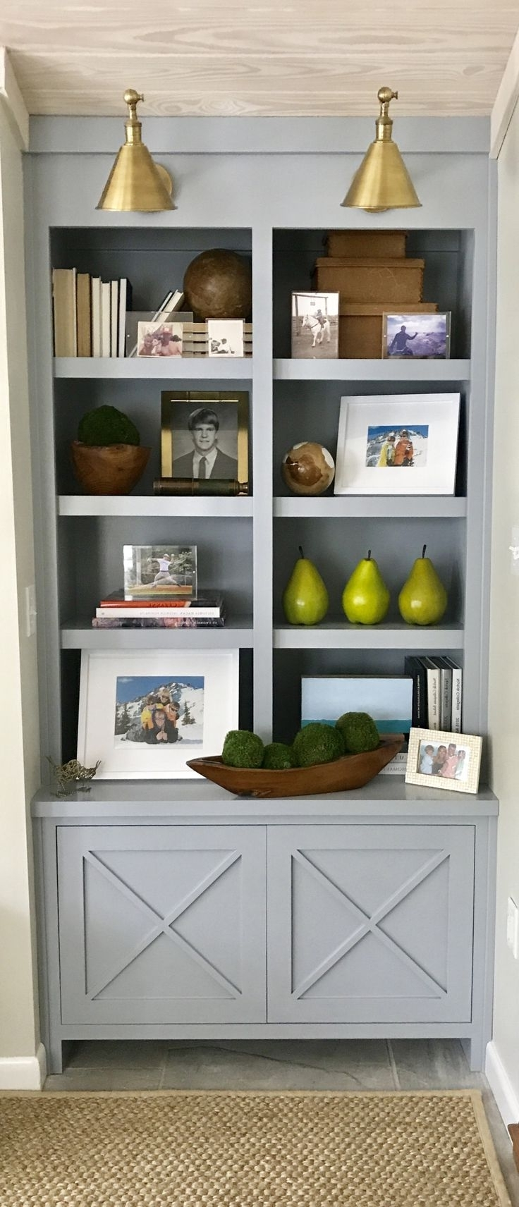 Built In Shelves With 2017 Bookcases Cupboard (View 5 of 15)
