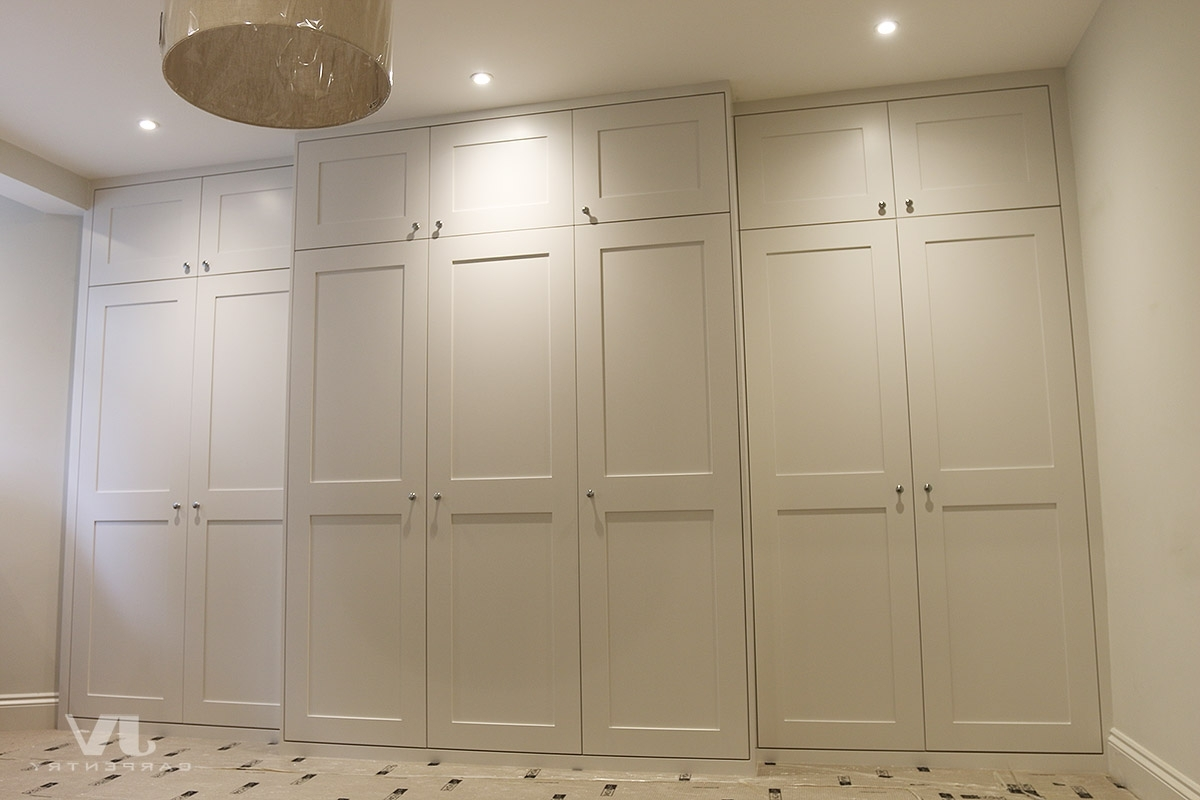 Built In Wardrobes Around Chimney Breast (View 6 of 15)