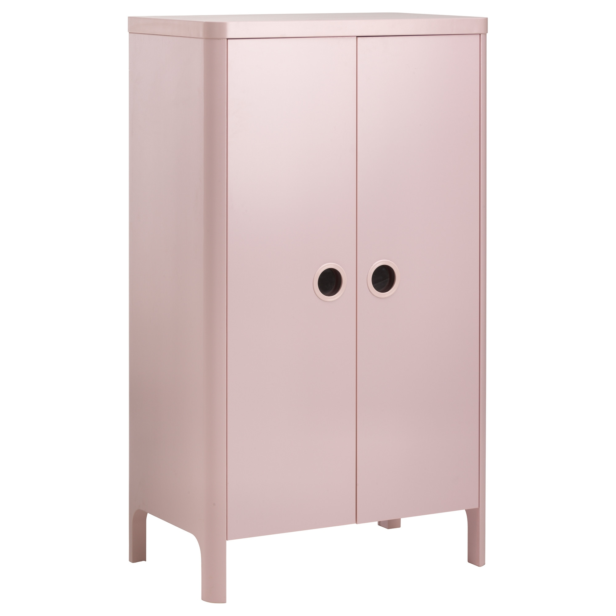 Busunge Wardrobe Light Pink 80X139 Cm – Ikea Regarding Preferred Wardrobes For Baby Clothes (View 1 of 15)