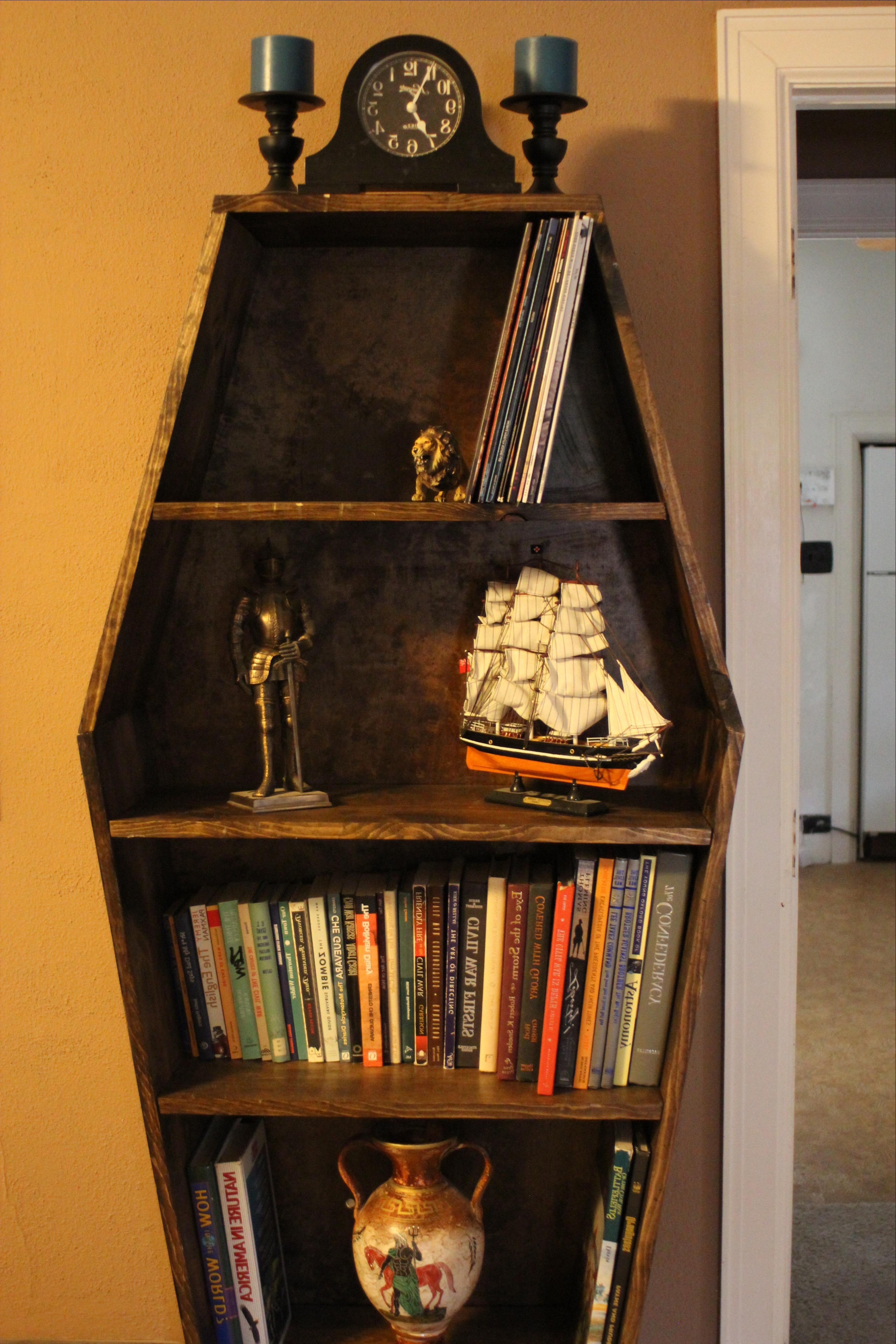 Featured Photo of Coffin Bookcases