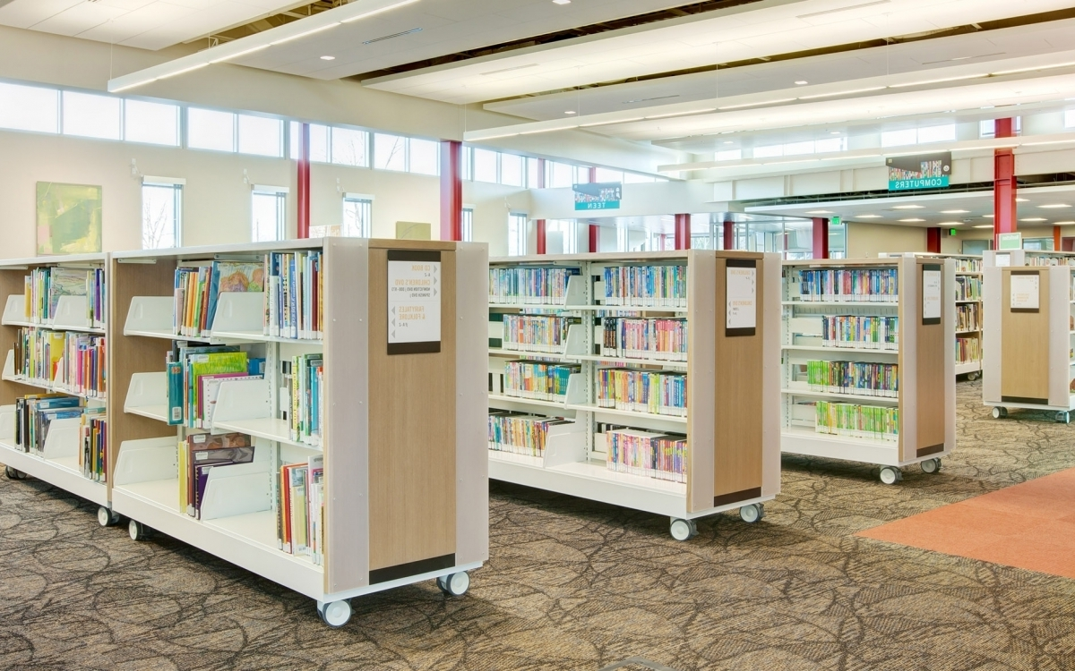 Cantilever Library Shelving (View 2 of 15)