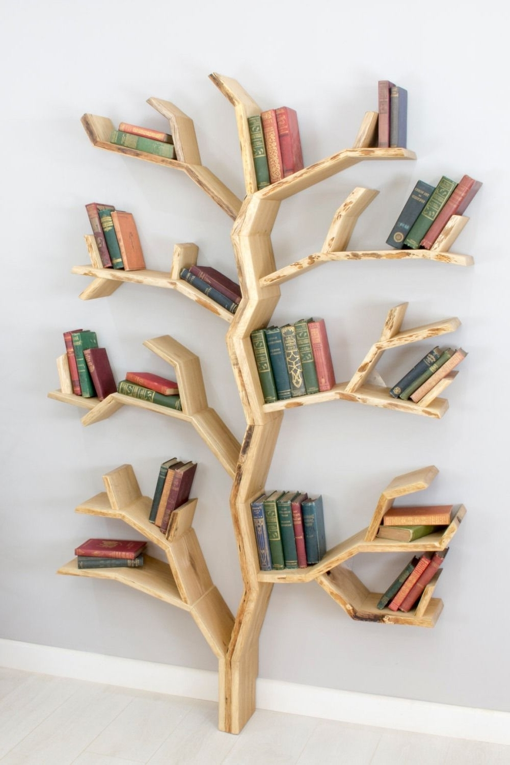 Carpentry, Snowball And Creative Within Latest Tree Bookcases (View 4 of 15)