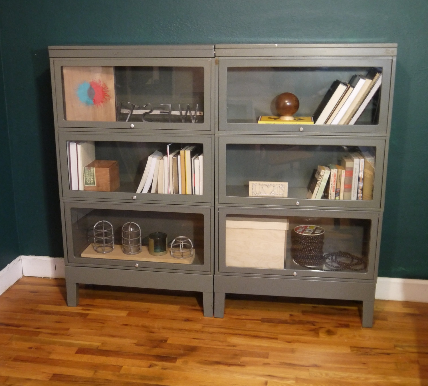 Carson 5 Shelf Bookcases With Famous Lawyer Bookcase White Bookcase With Doors : Doherty House – Lawyer (View 3 of 15)