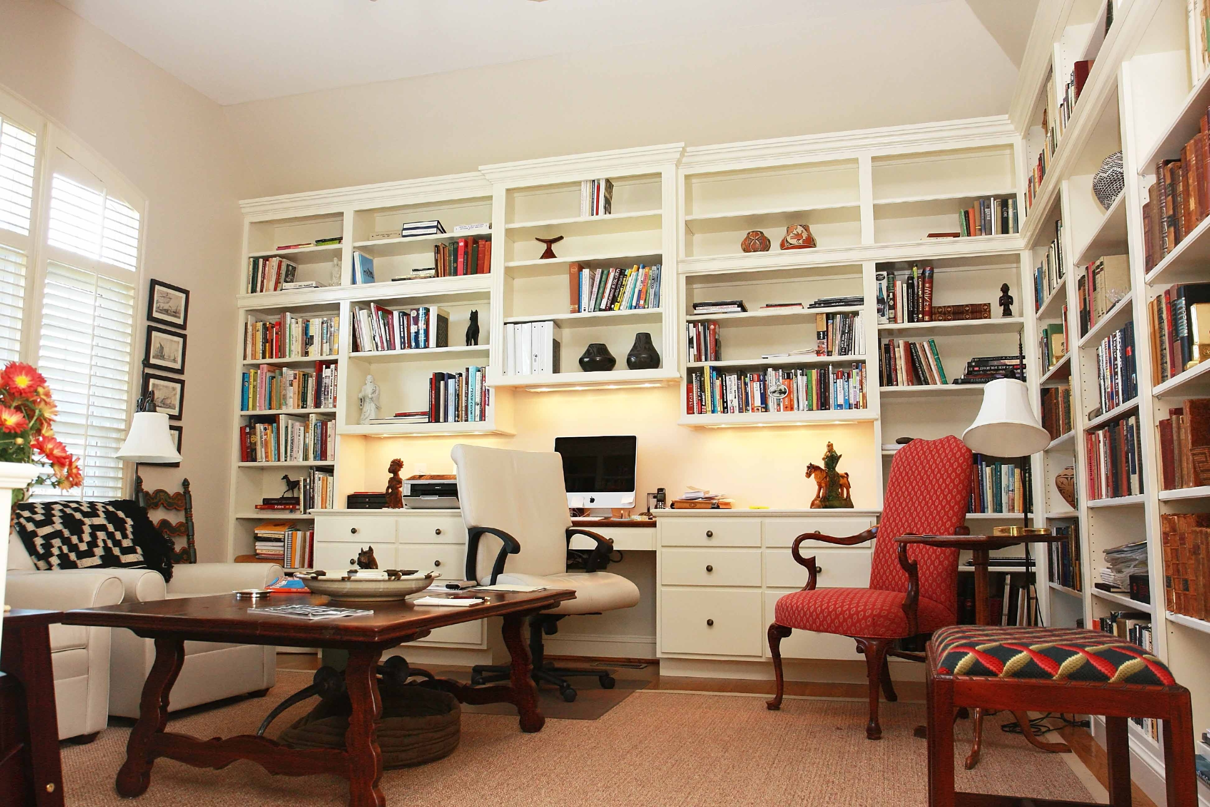 Chair Bookcases For Preferred Free Standing Bookshelves Keeping Your Book Collections In Style (View 3 of 15)