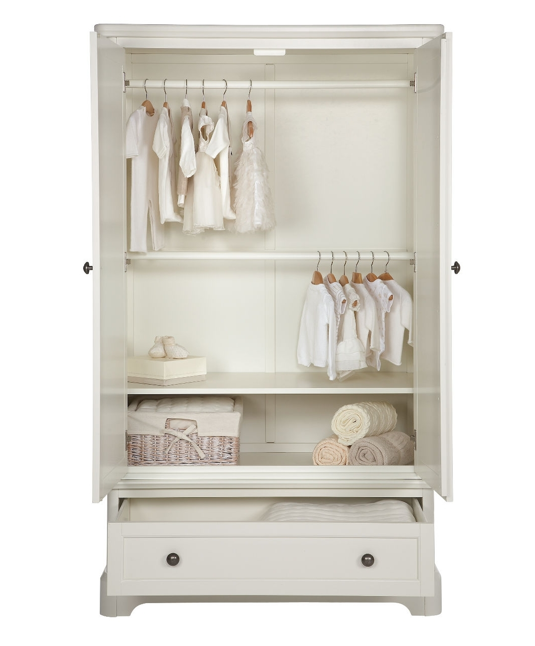 Cheap Baby Wardrobes Intended For Most Popular Orchard Wardrobe – Wardrobes – Mamas & Papas (View 7 of 15)