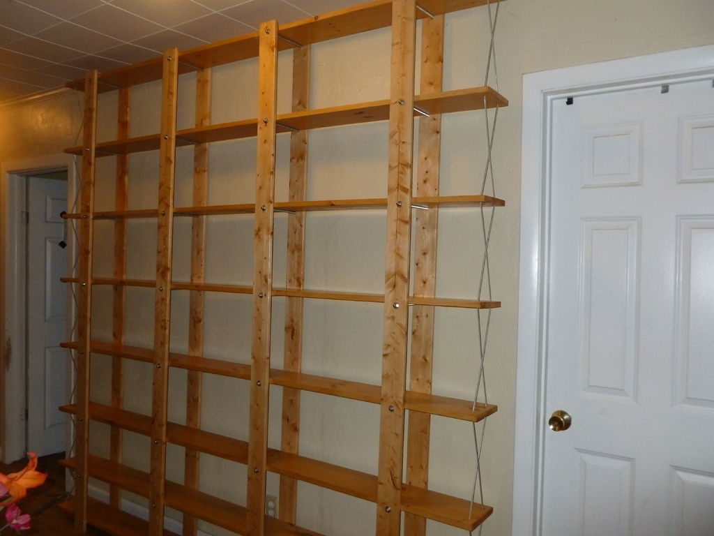 Cheap, Easy, Low Waste Bookshelf Plans: 5 Steps (with Pictures) Throughout 2017 Large Bookcases Plans (View 3 of 15)