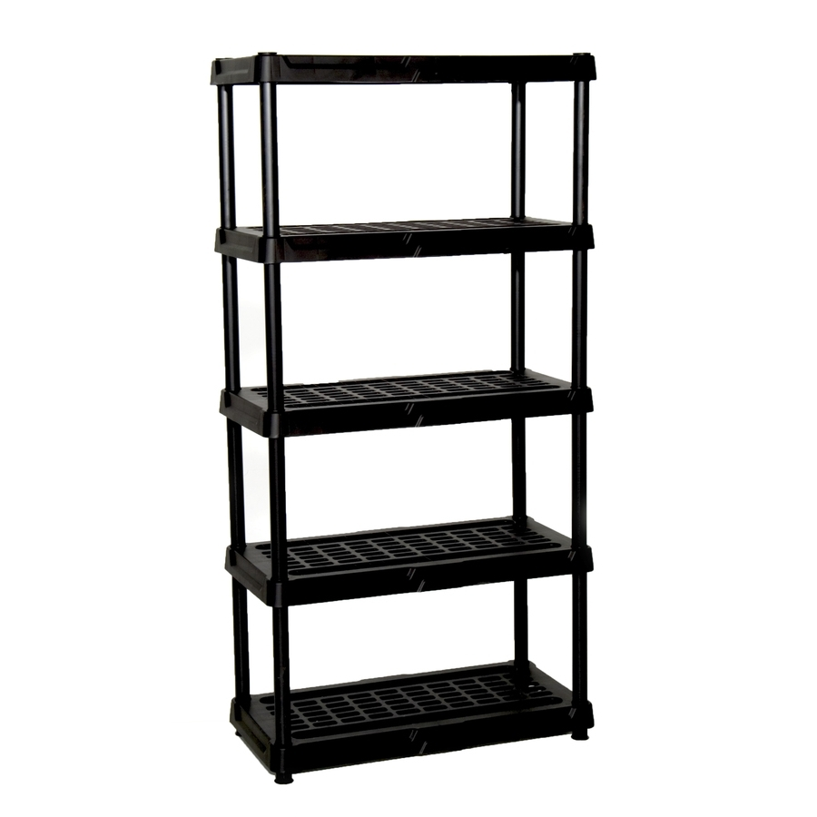 Cheap Shelving Units For Most Popular Shop Freestanding Shelving Units At Lowes (View 3 of 15)