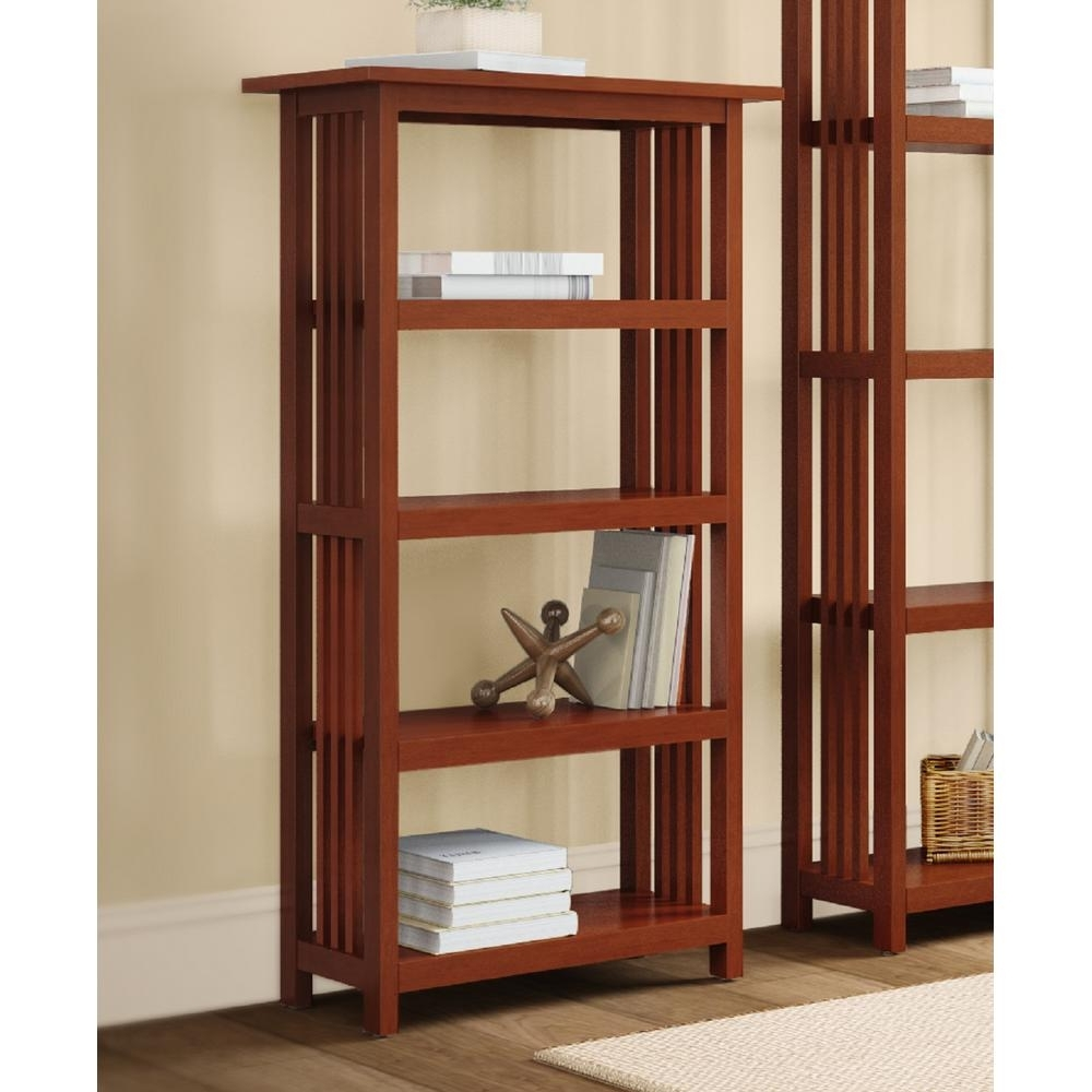 Cherry Bookcases In Newest Cherry – Bookcases – Home Office Furniture – The Home Depot (View 2 of 15)