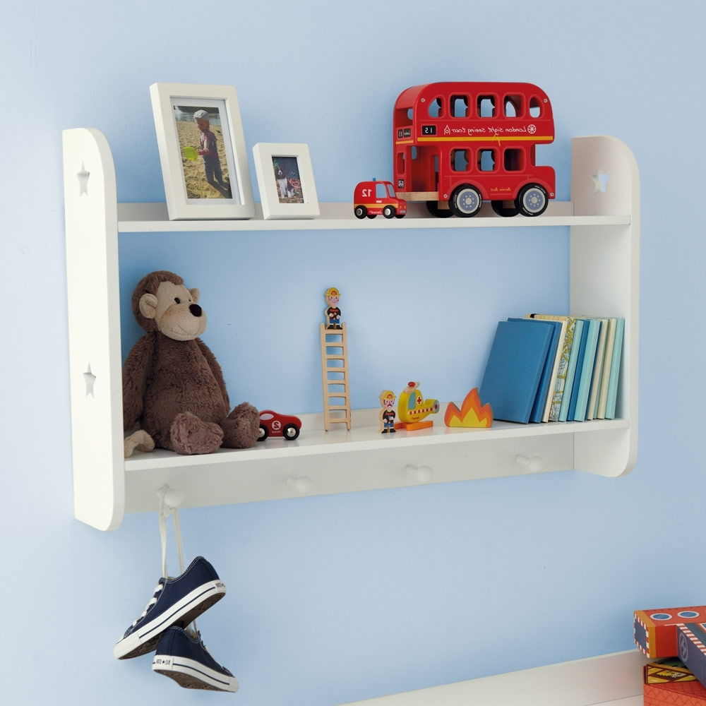 Childrens Bookcases Inside Preferred Star Wall Shelves (With Hooks) – Bookcases & Bookshelves (View 5 of 15)