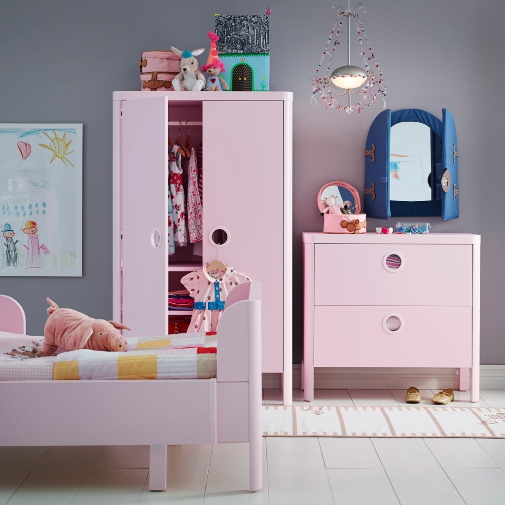 Childrens Pink Wardrobes Inside Fashionable Kids Bed Design : Children Bedroom Designs Sizes Colors Comfort (View 4 of 15)