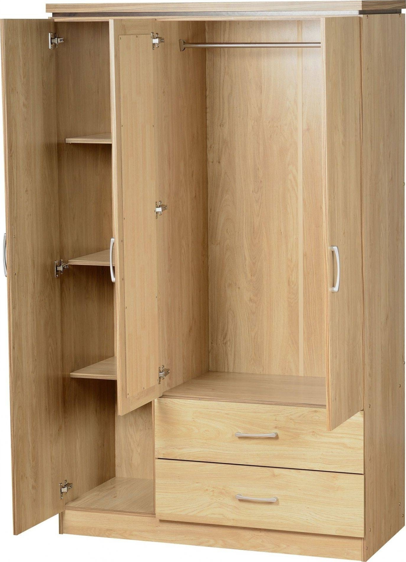Childrens Wardrobe With Shelves And Drawers • Drawer Ideas Regarding Fashionable Childrens Wardrobes With Drawers And Shelves (View 6 of 15)