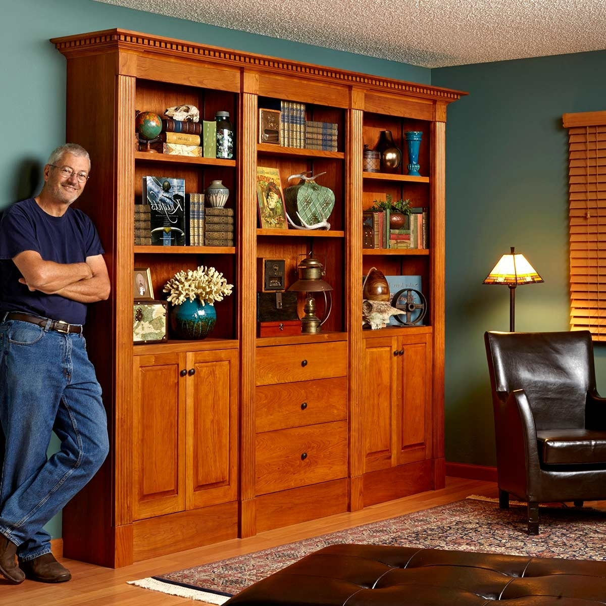 Classic Bookshelves Design For Best And Newest How To Build A Classic Floor To Ceiling Bookcase (View 6 of 15)