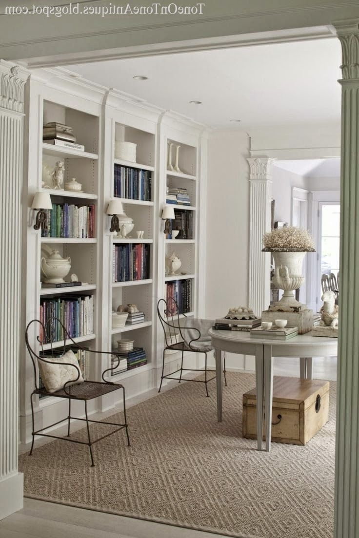 Classic Bookshelves For Best And Newest Awesome Built In Book Shelves Has Contemporary Bookcases And (View 13 of 15)