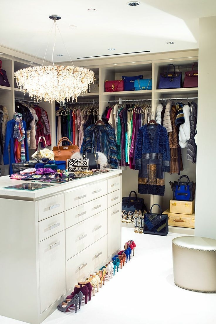 Closet Space With Regard To Famous Double Black Covered Tidy Rail Wardrobes (View 4 of 15)
