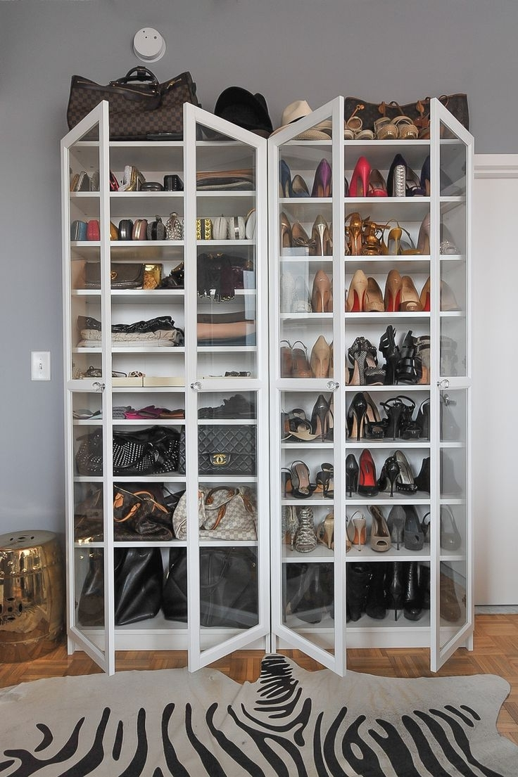 Closet Storage : Hanging Shoe Organizer Walmart Shoe Rack Ideas In Well Known Wardrobes Shoe Storages (View 4 of 15)
