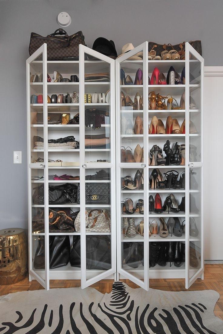 Closet Storage : Hanging Shoe Organizer Walmart Shoe Rack Ideas In Well Known Wardrobes Shoe Storages (View 13 of 15)