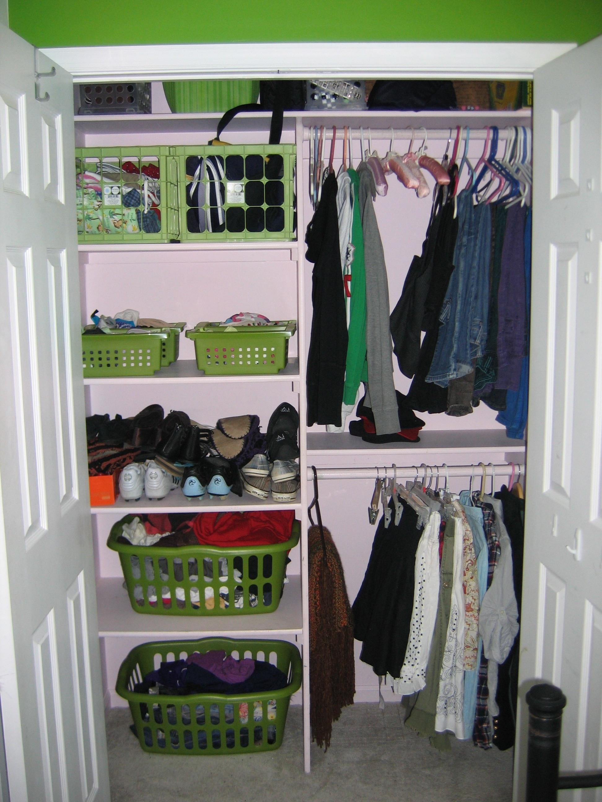 Closet Storage : Sliding Wardrobes Closet Organization Ideas For Latest Bedroom Wardrobes Storages (View 7 of 15)