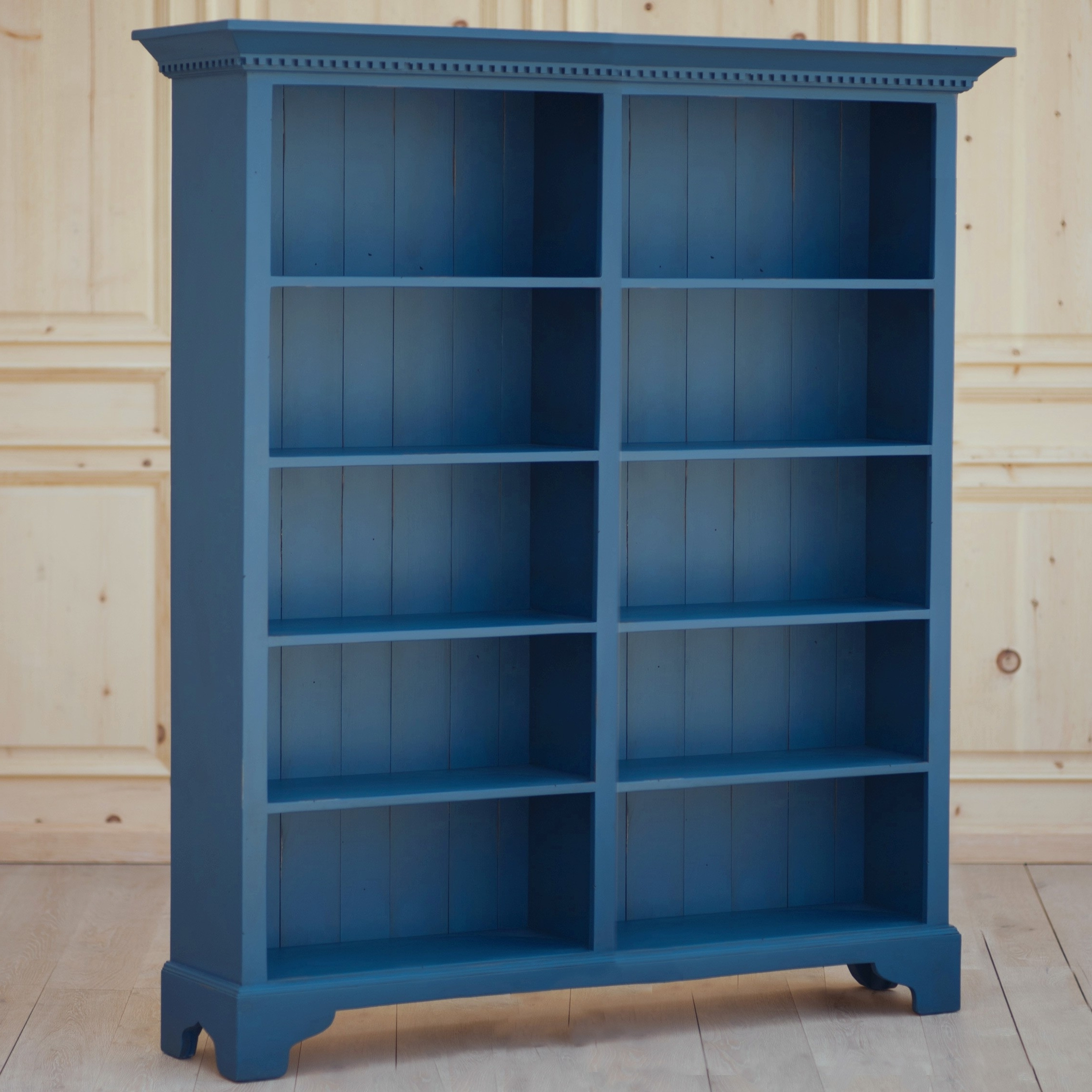 Featured Photo of Blue Bookcases