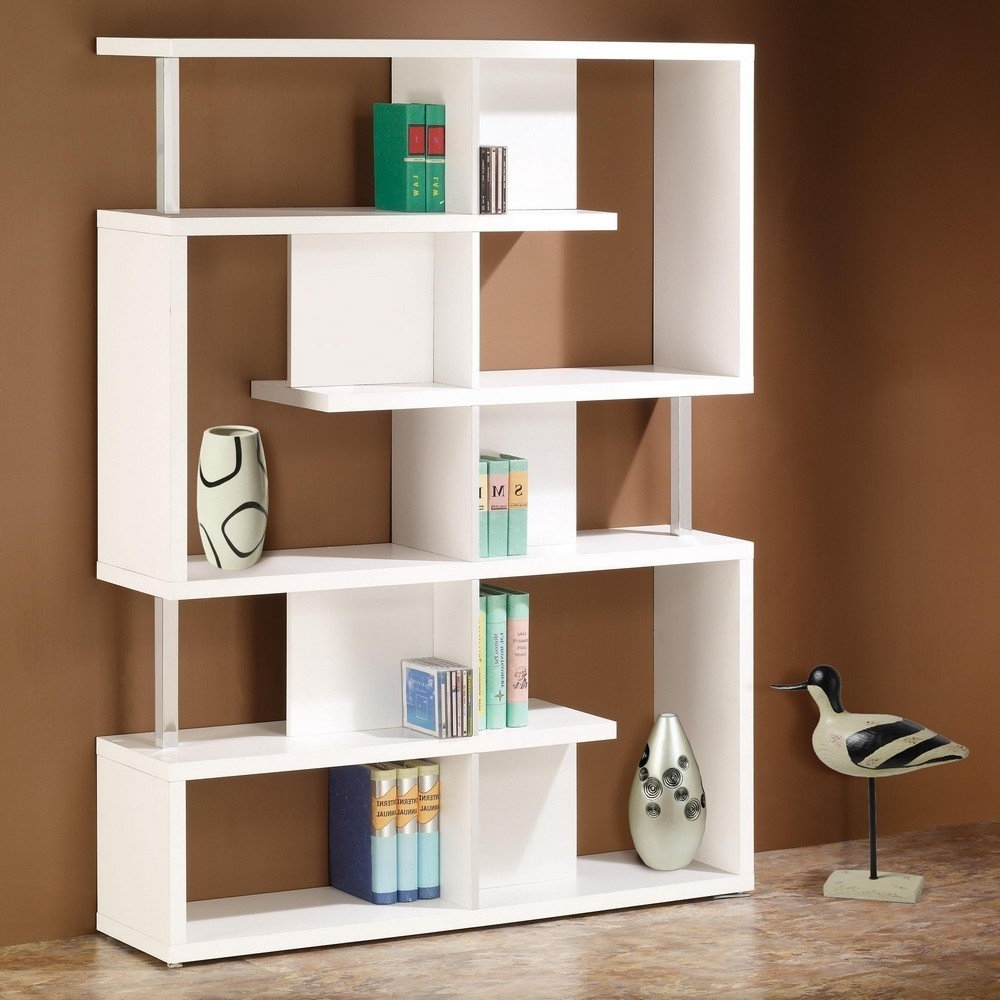 shelves bookcase with bookcases brands coaster bookshelf rectangular cappuccino