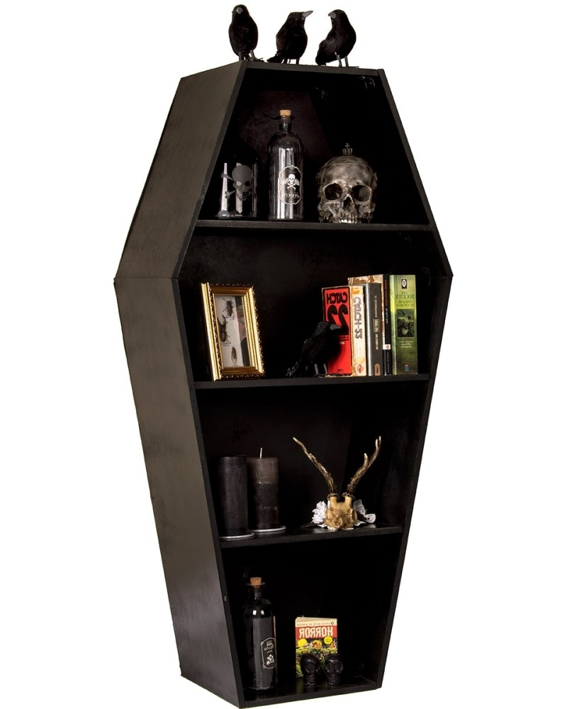 Coffin Shelf – Tragic Beautiful Buy Online In Favorite Coffin Bookcases (View 8 of 15)